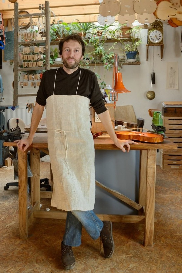 Violin Maker Yann Besson